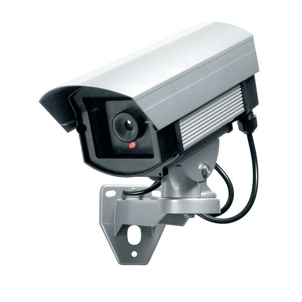 Überwachungskamera-Attrappe, Aluminium
