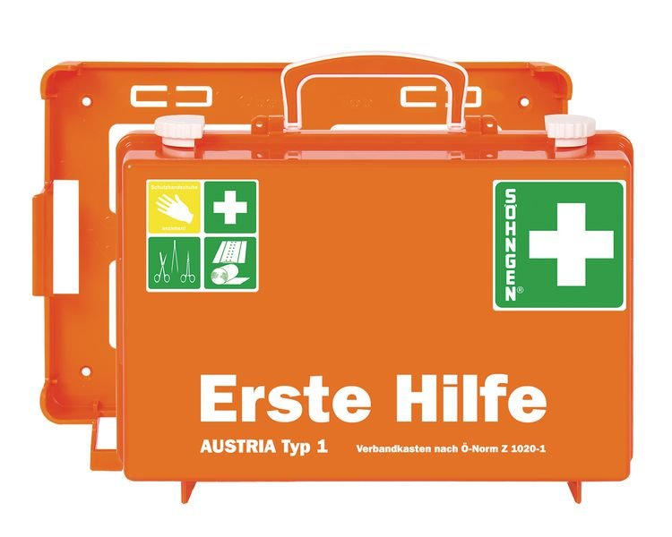 SÖHNGEN Erste-Hilfe-Koffer, ÖNORM Z1020 Typ 1