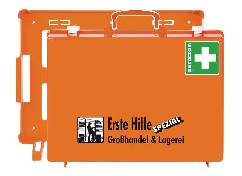 """SÖHNGEN Erste-Hilfe-Koffer """"Spezial"""" und Nachfüllpackungen für Großhandel und Lagerei, DIN 13157"""