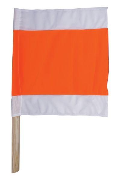 Warnflaggen mit Holzstiel