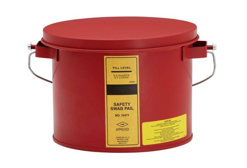 Tränk-/Reinigungsbehälter aus Stahl