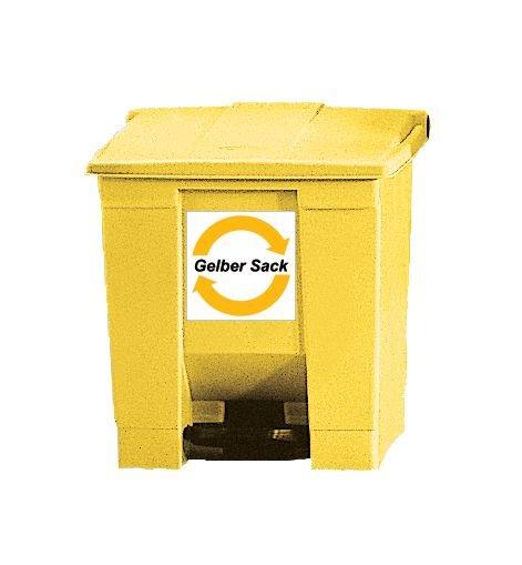 Abfallbehälter mit Fußpedal