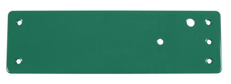Stahl-Montageplatte für Brandschutztüren – Türwächter mit Voralarm