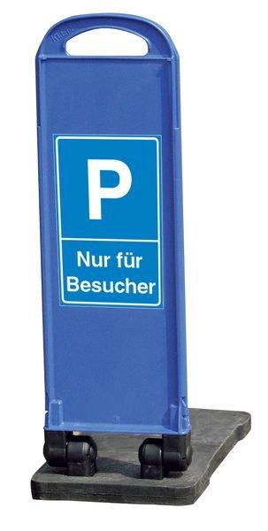 Besucherparkplatz – Parkbaken, mobil