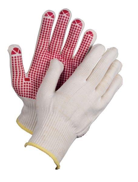 Polyamid-Handschuhe mit Noppen, Grobstrick