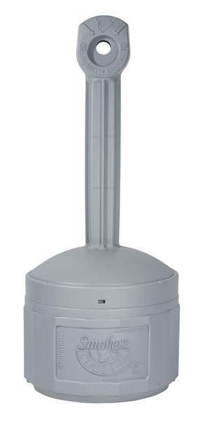 Standascher, selbstverlöschend aus Kunststoff mit 15 Liter Innenbehälter