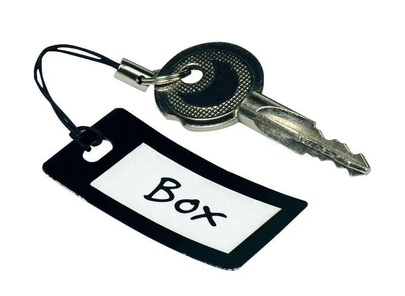Schlüsselanhänger, selbstlaminierend