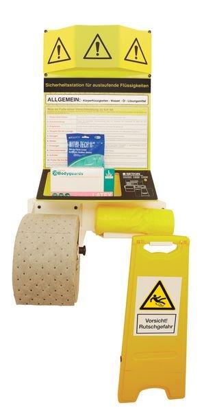 PREMIUM Sicherheits-Stationen für Gefahrstoffunfälle und Leckagen