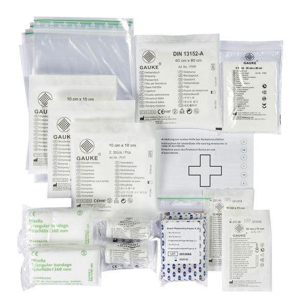 Cederroth Nachfüllmaterial-Set für Erste-Hilfe-Koffer, DIN 13157