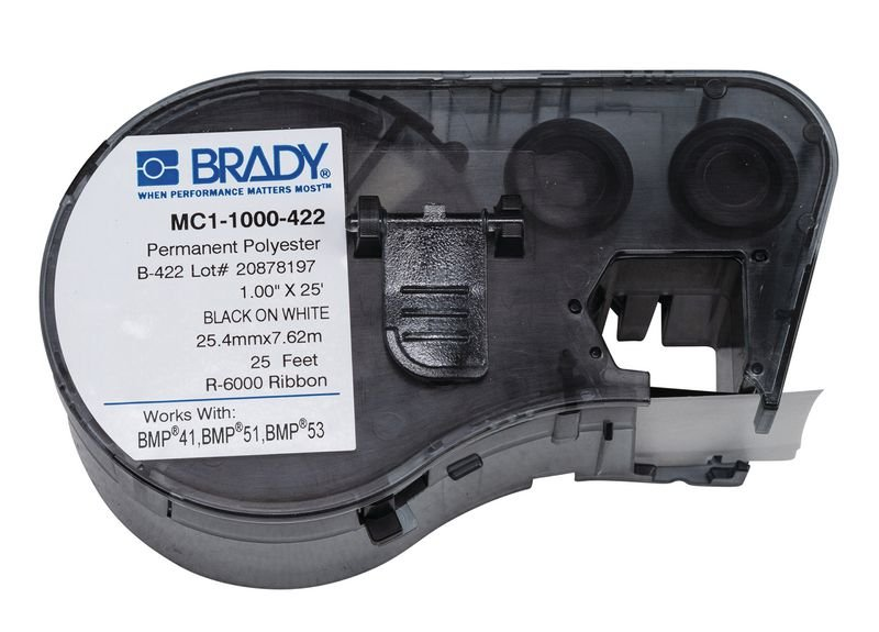 BRADY Beschriftungsbänder (endlos) aus Polyester für BMP41/51/53
