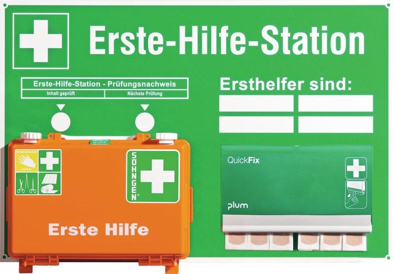 Erste-Hilfe-Stationen