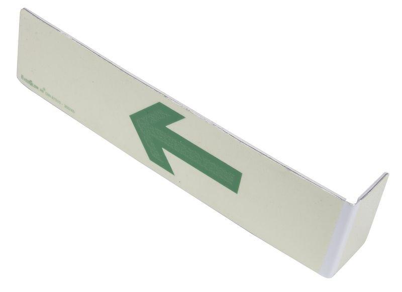Everglow® Treppenwinkel, Pfeil aufwärts - Fluchtwegkennzeichnung, bodennah, langnachleuchtend