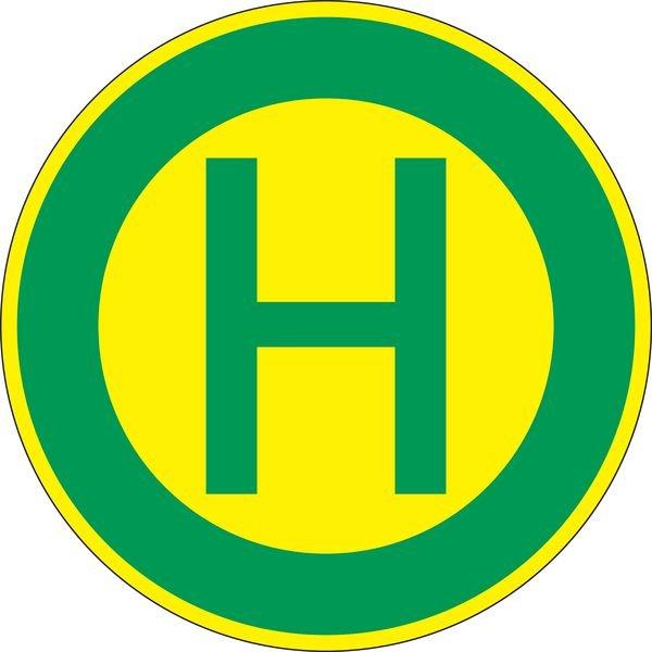 Haltestelle - Verkehrszeichen für Deutschland, StVO, DIN 67520