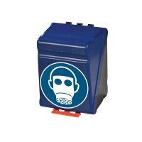 Atemschutz benutzen - Aufbewahrungsboxen für Schutzausrüstung