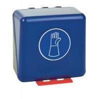 Handschutz mit Stulpen benutzen - Aufbewahrungsboxen für Schutzausrüstung