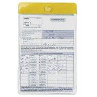 Ausweis-/Kartenschoner mit Saugnapf, Farbstreifen