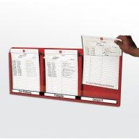 Prozess-Kontroll-Sichtfach-System
