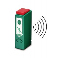 Einhand-Funk-Türwächter mit Voralarm, EN 179, EN 1125