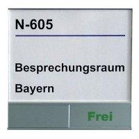 """Schiebeschilder """"Frei""""/""""Belegt"""""""