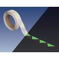 Türmarkierungsbänder zur Fluchtwegkennzeichnung, langnachleuchtend