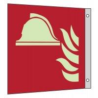 """Internationale Brandschutzzeichen-Schilder """"Mittel und Geräte zur Brandbekämpfung"""" EN ISO 7010"""