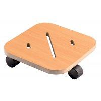 Rollplatten aus Holz, viereckig