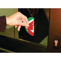 Drücken/Ziehen - Doppelseitige Fluchtwegkennzeichnung, langnachleuchtend