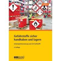 Gefahrstoffe sicher handhaben und lagern – Gefahrstoffliteratur