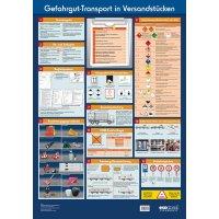 Gefahrgut-Transport in Versandstücken – Betriebsaushänge zur Labor- und Gefahrstoffsicherheit