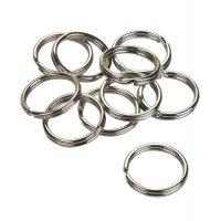 Stahl-Schlüsselringe, rund