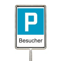 Besucher - Parkplatzschilder zum Einsatz in der Schweiz, SSV
