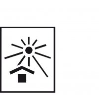 Vor Hitze schützen – Versandgut-Markierschablonen