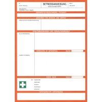 Blanko-Betriebsanweisungen für Gefahrstoffe, zum Selbstbeschriften