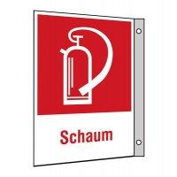 """Brandschutzzeichen-Kombi-Schilder """"Schaumlöscher"""""""