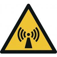 """Warnzeichen """"Warnung vor nicht ionisierender Strahlung"""" nach EN ISO 7010"""