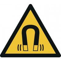 """Warnzeichen """"Warnung vor magnetischem Feld"""" nach EN ISO 7010"""