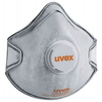 uvex Einweg-Kapselmasken, mit Nasenclip, EN 149
