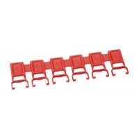Farbclips für RFID-Kabelbinder zur Produktkennzeichnung