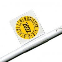 Jahreszahl 4-stellig - Kabelprüfplaketten