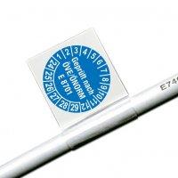 Geprüft nach ÖVE/ÖNORM E 8701 - ÖNORM Kabelprüfplaketten aus Vinylfolie