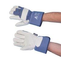 Winter-Rindnarbenleder-Handschuhe