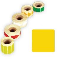 Papier-Quadrate, beschriftbar, auf Rolle