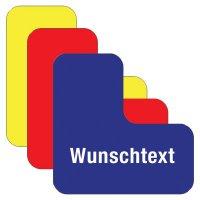L-Stück - Bodenkennzeichnung für Palettenplätze mit Text nach Wunsch, selbstklebend