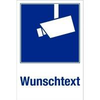 Kombi-Videokennzeichnung mit Text nach Wunsch, praxiserprobt