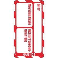 Maximallastangabe - Scafftag® Nanotag Einsteckschilder