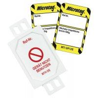 Nächster Inspektionstermin - Scafftag® Microtag Einsteckschilder-Set