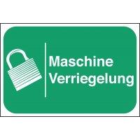 Maschine Verriegelung - Lockout Tagout Maschinenkennzeichnung