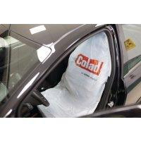 Einweg-Sitzbezug aus Kunststoff