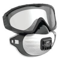 JSP® Augen- und Atemschutz mit Ausatemventil, FFP2, EN 149, EN 166, EN 170