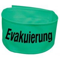 """Warnbinden """"Evakuierung"""", fluoreszierend"""